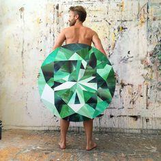Kurt Pio || Emerald painting