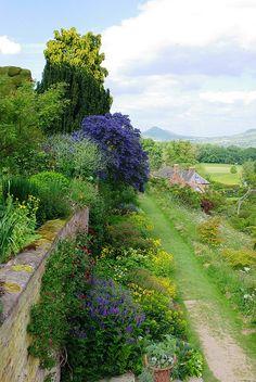 Powys Castle Gardens, Welshpool, Wales