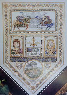 teresa wentzler cross stitch designs   ... King Queen By Just Cross Stitch - Counted Cross Stitch Pattern Chart