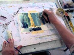 Renown Watercolor Artist Sterling Edwards demos at Casa de los Artistas.mov