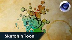 Sketch n Toon - Cinema 4D tutorial