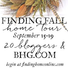 Finding Fall Home Tour – Fall Decorating Ideas - Finding Home