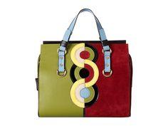 DSQUARED2 Circle Print Tote Bag