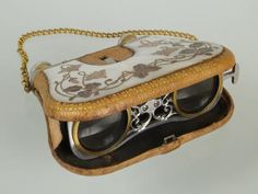 1900 Spanish Opera Glasses in purse.