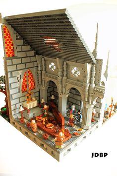 Dissolution of a Monastery Cool Lego, Cool Toys, Awesome Lego, Chateau Lego, Dissolution Of The Monasteries, Lego Boards, Lego Castle, Lego Design, Lego Creator