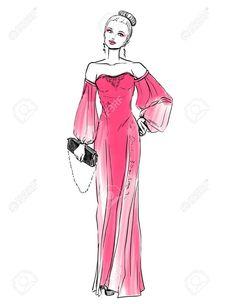 Mannequins, Recherche Google, Casual, Art, Style, Elegant Woman, Drawings, Grown Women, Dress Drawing