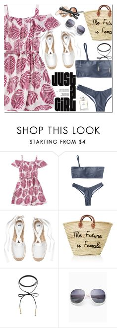 """""""Just a Girl"""" by oshint ❤ liked on Polyvore featuring Chanel"""