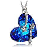 Isn't this blue heart necklace gorgeous!  Affiliate link