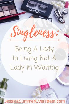 Singleness is a time to live, not wait. Your life has value now, God has work for you to do now and you can do it all without a man at your side! Singleness is a blessing and a gift from God so enjoy it! #singleness #women #singlelife