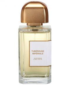 NICHE: BDK Tubéreuse Impériale. Regal, with baie rose, geranium, tuberose, ylang-ylang, jasmine, iris, cashmeran, sandalwood, incense, vanilla, patchouli, benzoin, cypress.