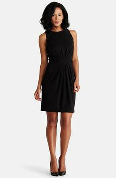 Donna Morgan Lace Trim Sheath Dress available at #Nordstrom $118