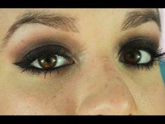 UD Naked 3 - Ojos ahumados morados   Tutorial de maquillaje / Purple smokey eyes - makeup tutorial
