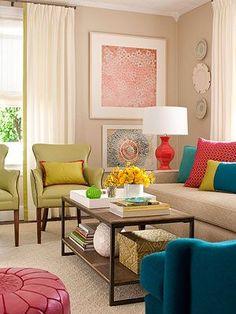 Add a Pop of Color! charisma design