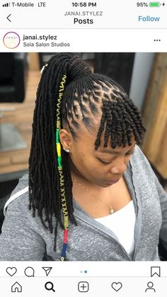 - Women Style World Mom Hairstyles, Dreadlock Hairstyles, Curled Hairstyles, Top Hair Salon, Natural Hair Salons, Dreadlock Styles, Natural Hair Styles For Black Women, Coarse Hair, Trendy Haircuts