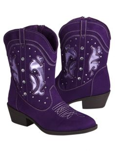Justice shoes for girls | Purple Zebra Boots | Girls Boots Shoes ...