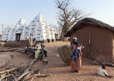 Exclusive interview with Iwan Baan - the rock star of architectural photography.  Image - Larabanga, Northern Ghana
