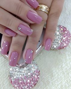50 Beautiful Nail Art Designs & Ideas Nails have for long been a vital measurement of beauty and Cute Nails, Pretty Nails, Pink Holographic Nails, Fall Nail Art Designs, Manicure E Pedicure, French Pedicure, Pedicure Designs, Nagel Gel, Stylish Nails