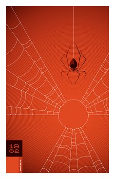 1962 Spider print   Illustrator: To, Whalen - http://www.strongstuff.net