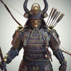 y Michael Weisheim Beresin .You can find Samurai and more on our website.y Michael Weisheim Beresin . Real Samurai, Oni Samurai, Samurai Weapons, Samurai Warrior, Ancient Armor, Medieval Armor, Armadura Ninja, Samurai Concept, Bushido