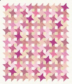 Friendship Stars Pattern (FREE Download) - It's Free! : Kiki Quilts, The Online Fabric Store
