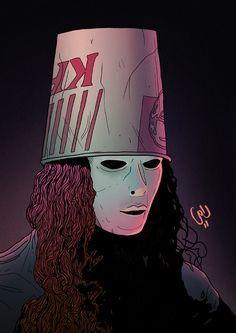 Masked Musicians: Buckethead Death Metal, Slipknot Tattoo, Heavy Metal Art, Best Guitarist, Hypebeast Wallpaper, Progressive Rock, My Chemical Romance, Music Bands, Rock Art