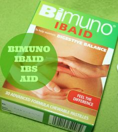 Just me, Leah.: Bimuno IBS pastilles update