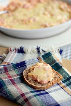 Hot Reuben Dip - can combine ingredients in small crock pot and cook on low 2 hours until blended