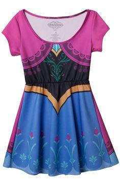 Frozen Anna Skater Dress
