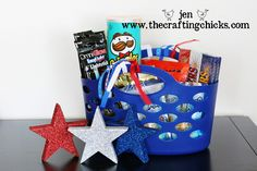 Fireworks basket.  Things for your kids to do while waiting for fireworks