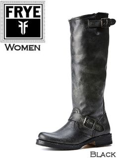 *Frye Boots Veronica Slouch #77609BLK Women