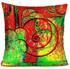 CAPA ALMOFADA PERFEITA PARA DECORAR. <br>Capa de almofada da série:Uni Duni Tê, com reproduções de quadros da Artista Plástica Rose Canazzaro para enriquecer a decoração da sua casa. Divirta-se decorando com arte!! <br>Tecido Microfibra <br>Zíper embutido <br>Impressão frente e verso. <br>Lavar a mão <br>Tamanho: 45X45cm