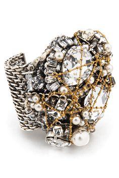 Craving this Erickson Beamon Bracelet