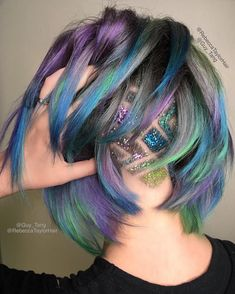 Glitter Undercut by Guy Tang & Rebecca Taylor