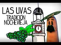 Tradición de las 12 uvas en nochevieja en España. Tradiciones nochevieja España, aprender cultura española. Clases para aprender español online gratis. Ver v...