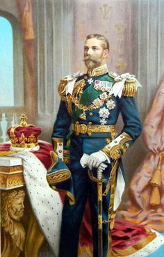 George as Prince of Wales (later King George V), 1902