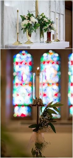 Winter wedding church floral designed by Minneapolis wedding florist Artemisia Studios. Photos by Jess Nolan Photography (http://www.jessnolan.com). #wedding #churchwedding #weddingdecor #weddingideas #aisledecor #churchweddingdecor #weddingceremony #florist #flowers #floral #weddingfloral #minneapolisweddingflorist #saintpaulweddingflorist #artemisiastudios