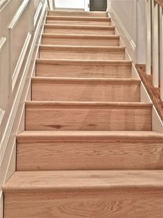 Treads and risers purchased in lumber dept. The Servary Guide to Stairs