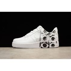 92b99d6e3c43c9 SUPREME CDG NIKE AIR FORCE 1 AF1 Low Men Shoes White Black Air Force 1