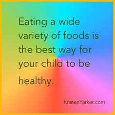 """Don't get fixated on one """"super"""" food. Variety is the key to healthy eating."""