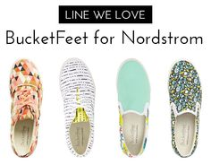 Line We Love? BucketFeet For Nordstrom!