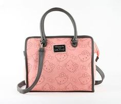 Hello Kitty Satchel: Peach Quilt  This will be my next HK Loungefly