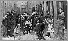 East London tenement, around 1889