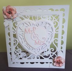 Wedding Card. Tonic Studios Affections.