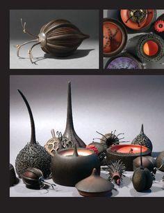 Louise Hibbert & Sarah Parker-Eaton, seed pod sculptures and jewelry Pottery Sculpture, Sculpture Art, Ceramic Pottery, Ceramic Art, Organic Shapes, Organic Form, Organic Sculpture, Organic Ceramics, Seed Pods