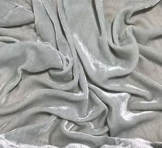 Silk/rayon velvet fabric Dusty Light Blue Silk Rayon pile I do have more of this fabric, convo me for a custom listing! Aesthetic Light, Gray Aesthetic, 3d Printed Jewelry, Diy And Crafts Sewing, Caramel Color, Silk Charmeuse, Dusty Blue, Sale Items, Light Blue