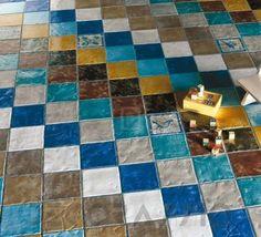#tiles #interior #design Напольная плитка Ecoceramica Maestri Ceramisti, EMF9B Tiles, Mosaic, Wall Decor, Contemporary, Rugs, Architecture, Design, Home Decor, Room Tiles