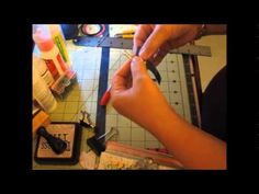 TUTORIAL for a QUICK Project! Cool Duct Tape Clip Pen Holder! - YouTube
