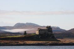 Duart Castle on the Island of Mull, Scotland - Clan MacLean.