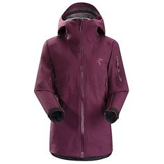 Arcteryx Sentinel Jacket - Women's Chandra Purple Medium *** Learn more by visiting the image link.