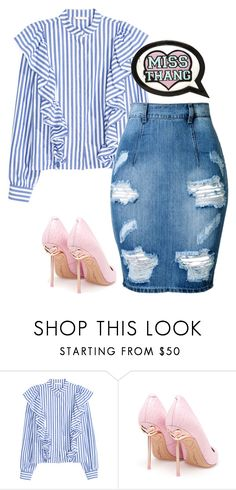 """Untitled #6181"" by stylistbyair ❤ liked on Polyvore featuring Sophia Webster"